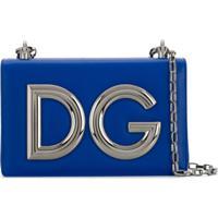 e88aae947 Dolce & Gabbana Bolsa Tiracolo 'Dg Girls' - Azul