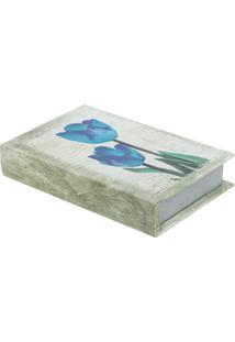 Livro Caixa Tulipa Bege