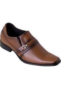 Sapato Social Havana Em Sintético