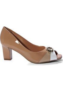 38f18e9e3 Peep Toe Poliester Vizzano feminino | Shoes4you
