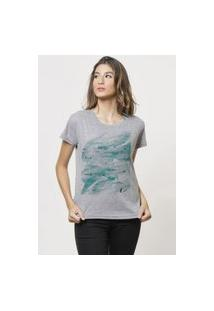 Camiseta Jay Jay Basica O Mar Cinza Mescla Dtg
