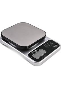 Balança Digital De Cozinha Pro 5 Kg Bal7825-Euro Home - Prata