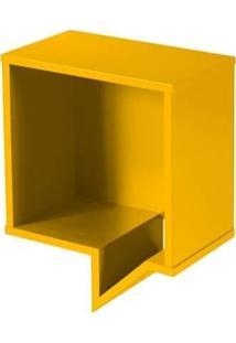 Prateleira Cartoon Quadrada - Amarela - Tommy Design
