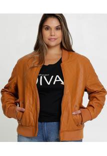 Jaqueta Feminina Bomber Matelassê Plus Size Marisa