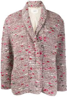 Isabel Marant Étoile Jaqueta De Tweed - Vermelho