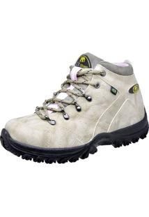 Bota Cr Shoes Adventure Style Marfim
