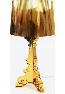 Abajur Poláris Dourado