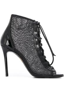Maison Ernest Carlotta 100 Panelled Ankle Boots - Preto