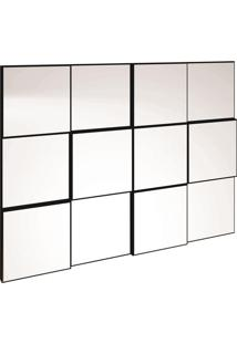 Painel Decorativo- Preto- 75X100X5Cm- Dalla Costdalla Costa