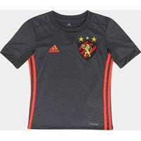 dbedac7aa2 Camisa Sport Recife Infantil Ii 17 18 S Nº Torcedor Adidas - Unissex