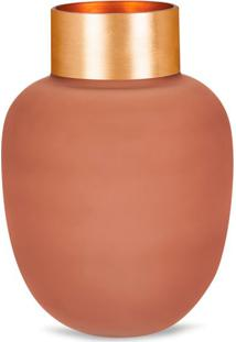 Vaso Decorativo Udyr Rosa 18 Cm