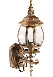 Arandela Colonial Ouro Velho 56Cm Lille Ac201P-M Biancoluce