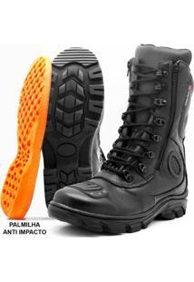 Bota Motociclista Atron Shoes Cano Alto - Masculino