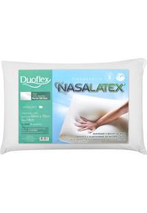 Travesseiro Duoflex Nasalatex Branco