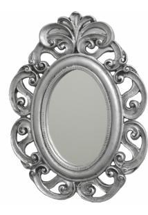 Espelho Casa Da Mãe Joana Trento Prata