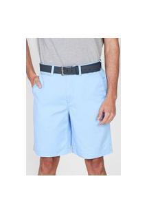 Bermuda Sarja Polo Ralph Lauren Chino Azul