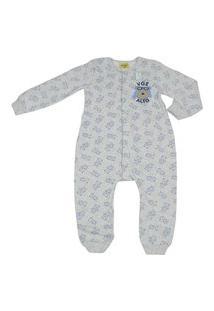 Pijama Macacão Brilha No Escuro Rolú