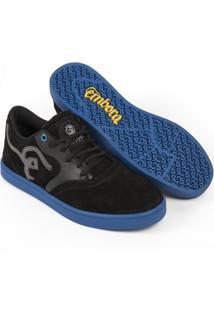 8966561ca Tênis Embora Footwear Supremo Masculino - Masculino-Preto+Azul