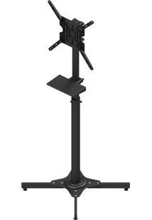 Suporte Pedestal Para Tv 27 A 55 Pol Avatron Tvc-01S Preto Com Sapata