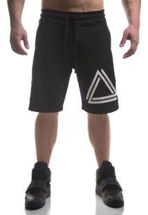 Bermuda Advance Clothing Triangle Preta