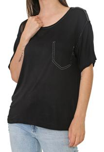 Camiseta Forum Pespontos Preta - Kanui
