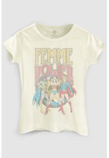 Camiseta Dc Comics Power Girls Bandup! - Feminino