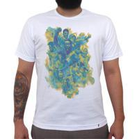 El Cabriton. Seleção Brasileira De Futebol Arte - Camiseta Clássica  Masculina f25f96ddca303