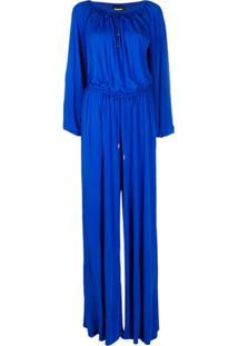 Dsquared2 Jaqueta Com Franzido - Azul