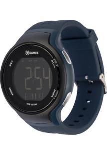 Relógio Digital X Games Xmppd555 - Unissex - Azul/Preto