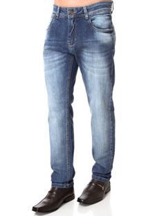 Calça Jeans Masculina Sawary Azul