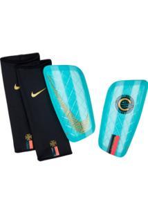 Caneleira Nike Mercurial Lite Cr7 Vrd Tam: P-M - Nike