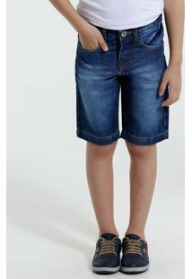 Bermuda Infantil Jeans Marisa