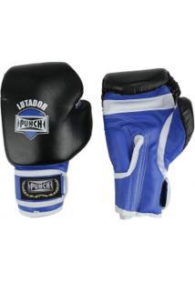 Luvas De Boxe Punch Amador - 14 Oz - Adulto - Preto