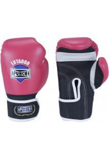 Luvas De Boxe Punch Amador - 8 Oz - Adulto - Rosa