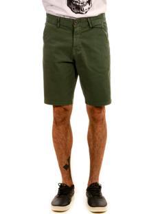 Bermuda Bypride Sarja Verde Militar - Verde - Masculino - Dafiti