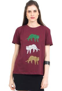 Camiseta Tri Cheetah 41Onze Vinho - Kanui