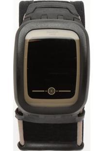 Relógio Digital Com Relevo Suvb100B- Preto- Swatchswatch