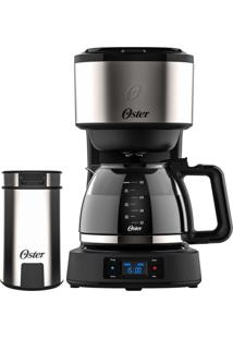 Kit Cafeteira Programável Day Light E Moedor Café Oster 220V