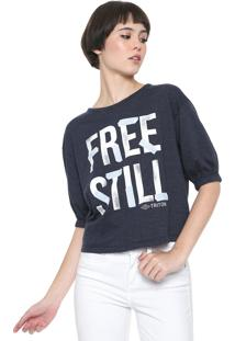 Camiseta Triton Free Still Azul