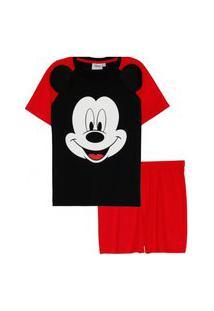 Pijama Infantil De Menino Njmix Camisa Short Super Herói