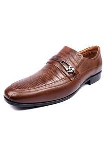 Sapato Social Shoes Grand 1430/3 Tabaco