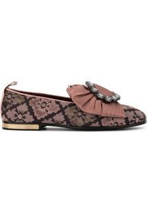 Dolce & Gabbana Slipper Jacquard - Rosa