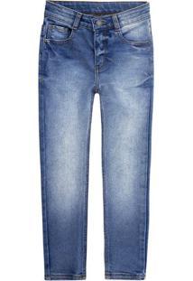 Calça Menino Em Jeans Amigo