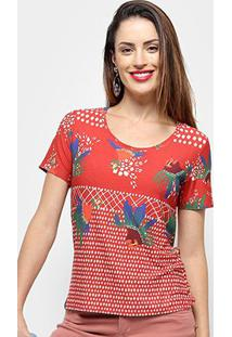 Camiseta Cantão Viola Feminino - Feminino