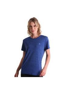 Camiseta Basic Energy - Azul Marinho - Líquido