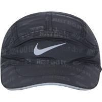 Boné Aba Curva Nike Tailwind Ghost Flash - Strapback - Adulto - Preto 7312c0992f3