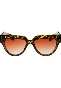 Óculos Ray Flector Buckingham Vtg 563Co Onça