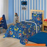 9a17aafa07 Edredom Infantil Patrulha Canina (150X220) Algodão Azul