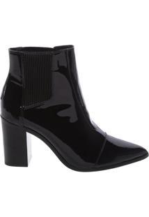 Bota Bico Fino Black | Schutz
