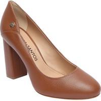 42bd26b27f Privalia. Sapato Tradicional Em Couro Com Recorte Lateral- Marrom